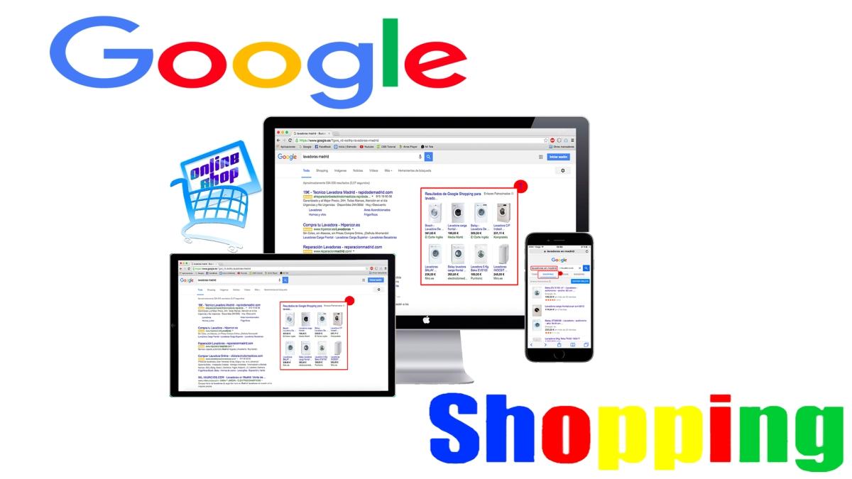 La mejor forma de vender productos online - google shopping
