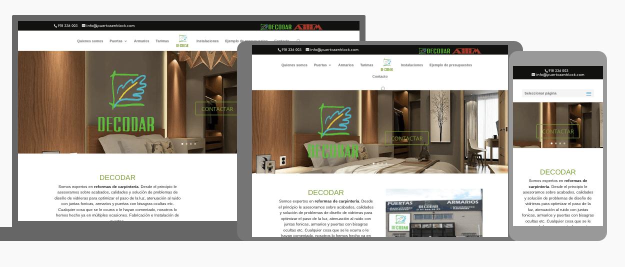 Decodar estrena web. Diseño Web para Decodar