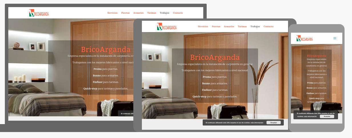 Diseño Web para BricoArganda