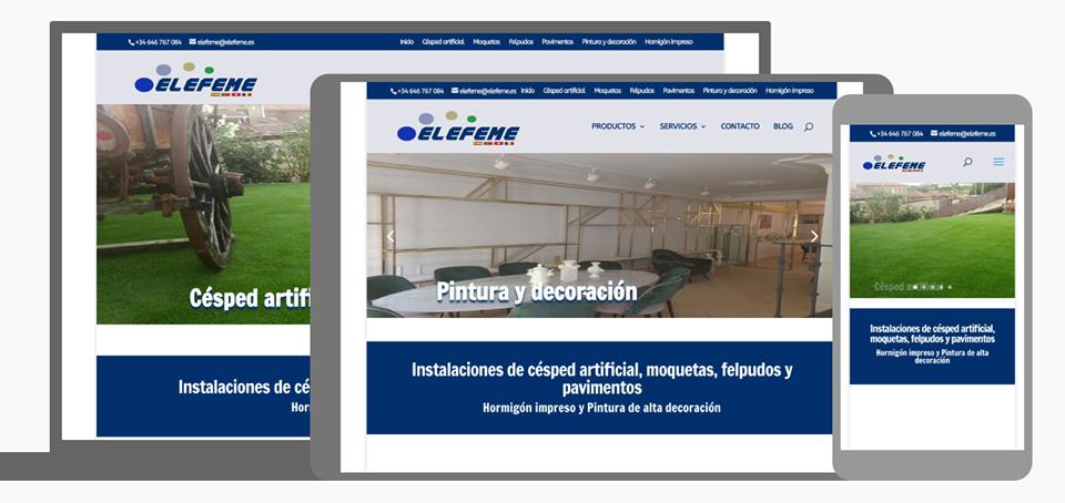 diseño web para elefeme